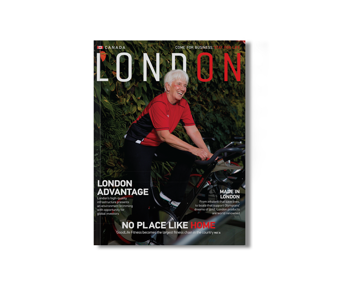 Online version of the London magazine on a Mac desktop.